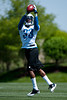 May 11, 2012; Allen Park, MI, USA; Detroit Lions cornerback Chris Greenwood (33) makes a catch during rookie mini camp at the Detroit Lions training facility. Mandatory Credit: Tim Fuller-US PRESSWIRE