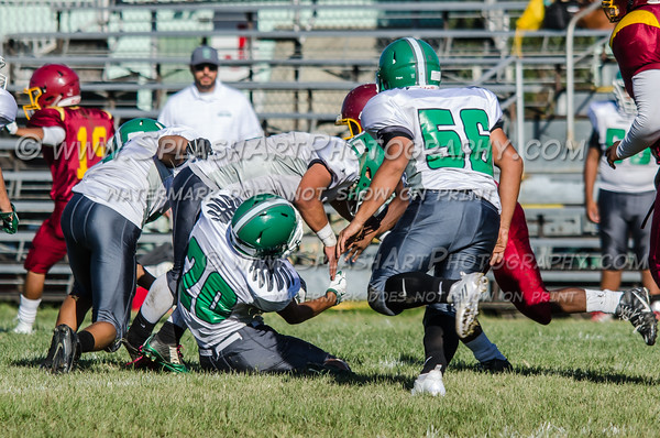 Eagle Rock JV Football vs Roosevelt Rough Riders