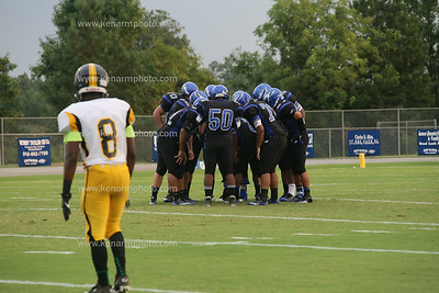East Bladen football Fairmont 2014