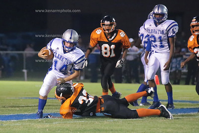 Elizabethtown vs Clarkton Bladen 5 football 2014