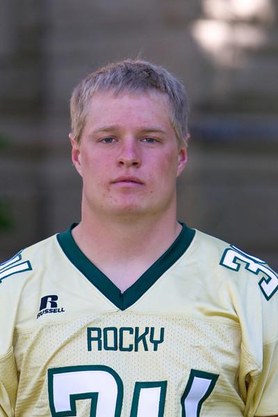#34 Luke Mahlen<br /> 5-11 / 210 / Sophomore <br /> Linebacker <br /> Williston, ND – Bainville HS<br /> Business<br /> Syvert and Brenda Mahlen
