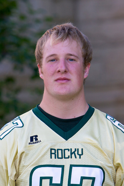 #67 Mick Moos <br /> 6-3 / 230 / Freshman<br /> Offensive Line<br /> Townsend, MT – Townsend HS <br /> Biology <br /> John and Lorrie Moos