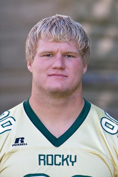 #99 Matt Kolden<br /> 6-1 / 250 / Senior<br /> Defensive Line<br /> Big Horn, WY – Big Horn HS<br /> Exercise Science / Business<br /> Mick and Renee Conroy