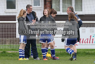Leek Town Girls U16 2 Stoke Town Ladies U16 1