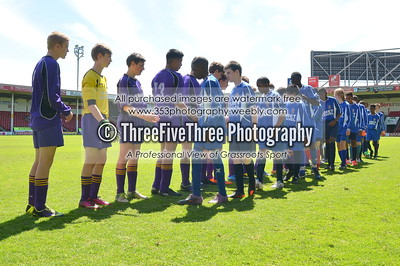Walsall Academy U14 4 Blue Coat U14 1