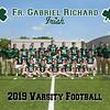 2019 FGR Varsity Football Team 8x10