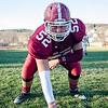 Fitchburg High's Mark Merchant at Crocker Field last week. SENTINEL & ENTERPRISE / Ashley Green