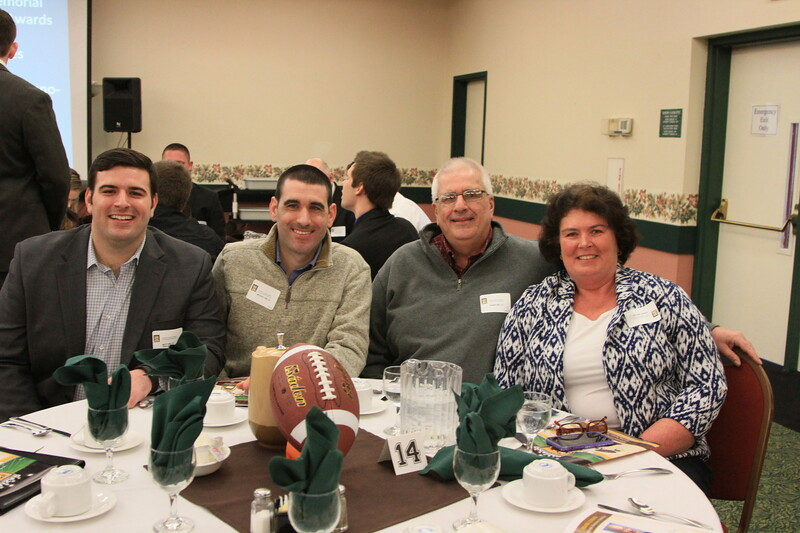 MATT WELCH, 2010 OFFENSIVE WINNER WITH FAMILY