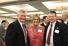 Pete Cloutier, Director and Selection Committee Member, daughter Gretchen and Matt Burgess, Bridgton Academy Ass't Coach