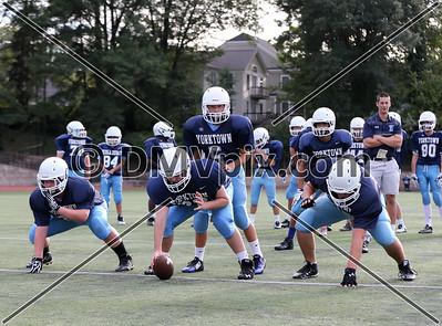Fairfax @ Yorktown Freshman Football (24 Sep 2015)