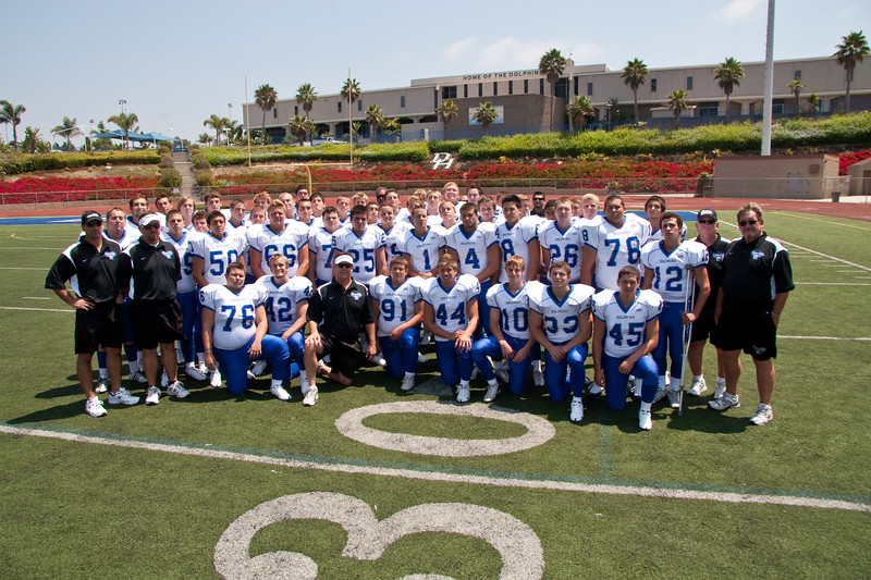 Dana Hills Team Photo #4 - on field