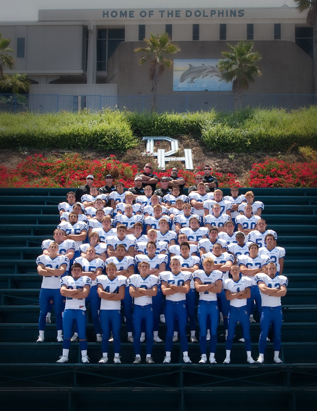 Dana Hills Varsity Team Photo 2009