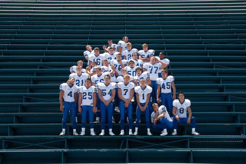 Varsity Team Photo 2009 - fun
