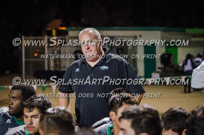 2015 Eagle Rock Football vs Symar Spartans