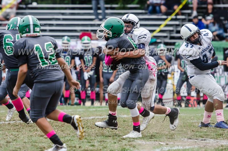 2015 Eagle Rock JV Football vs Marshall Barristers