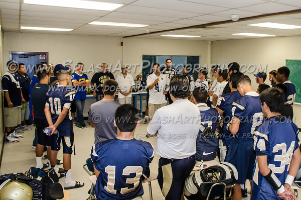 2015 Franklin Panthers Football vs Wilson Mules