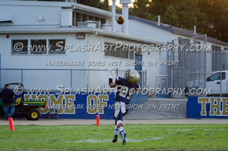 2015 Franklin Panthers Footbal vs Bell eagles