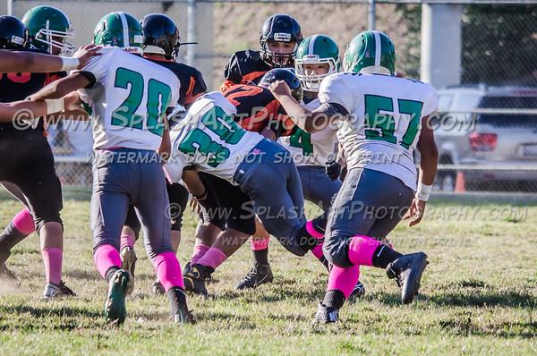 2015 Eagle Rock JV Football vs Lincoln Tigers