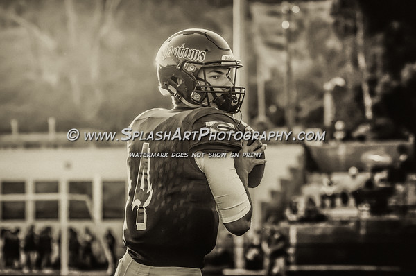 2016 Cathedral Phantoms Football vs Burroughs Indians