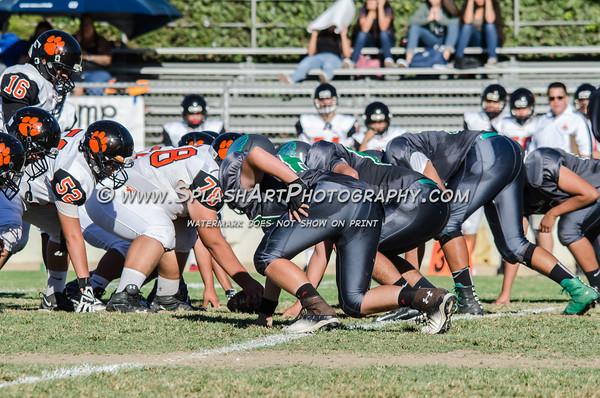 2016 Eagle Rock JV Football vs Lincoln Tigers