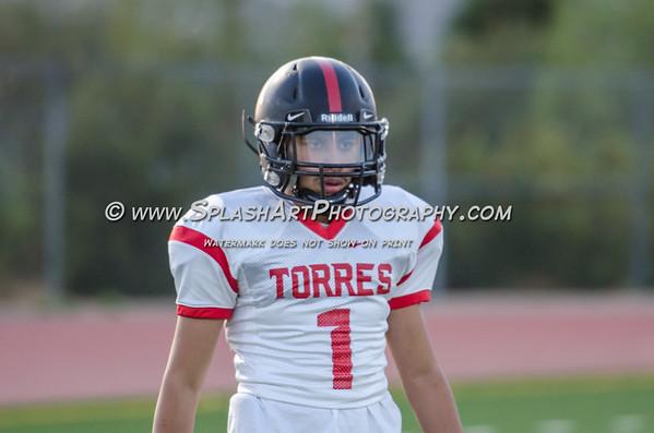 2017 Torres Toros Football vs Sotomayor Wolves