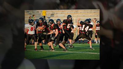 2012 CVHS Varsity & JV Football Intersquad Scrimmage