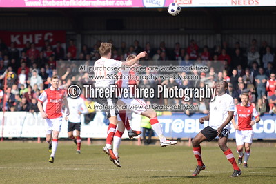 Kidderminster Harriers 3 Lincoln City 0