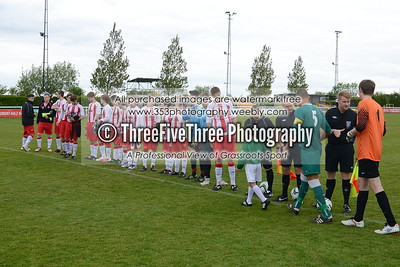 Brackley Town U18 4 North Warwick & Hinckley College U18 3