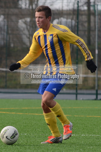 Shelfield Hat-Trick U16 1 Aylestone Park U16 0