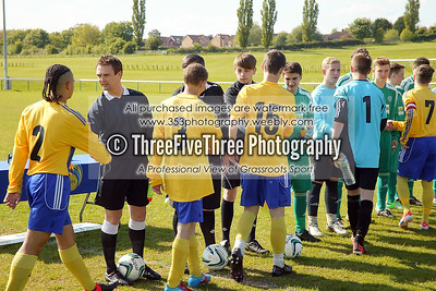 Wolverhampton Casuals U16 3 Shelfield Hat-Trick U16 0