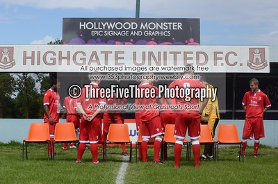 Highgate United Team Photoshoot