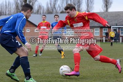Birmingham County FA U16 3 West Riding County FA U16 3
