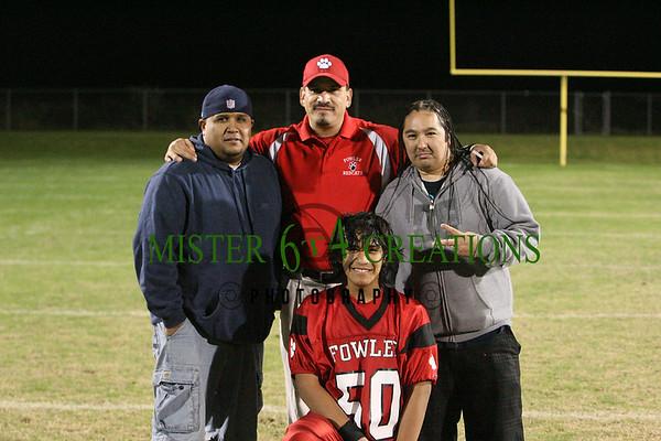 Fowler Redcats vs Selma Bandits Youth Football  - November 7, 2009