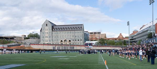Georgetown Hoyas; Lehigh Mountain Hawks; football