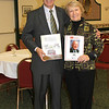 Jeff Kane and Judy Gaziano Kane holding the Event Program.!