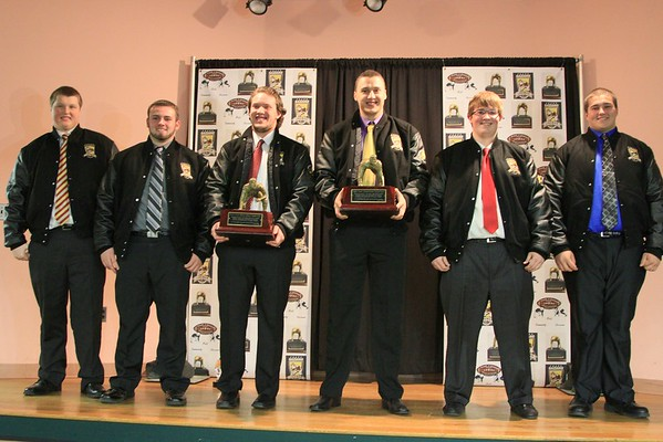 Frank J. Gaziano Linemen Awards 2014  held 1-24-2015