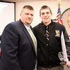 Coach Perkins with Matt McLean HS Senior at Windham HS.