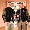 Logan Mars Offensive and Luke Libby Defensive Lineman Award Winners for 2011.  Presented January 29, 2012.<br /> Congratulations!!!