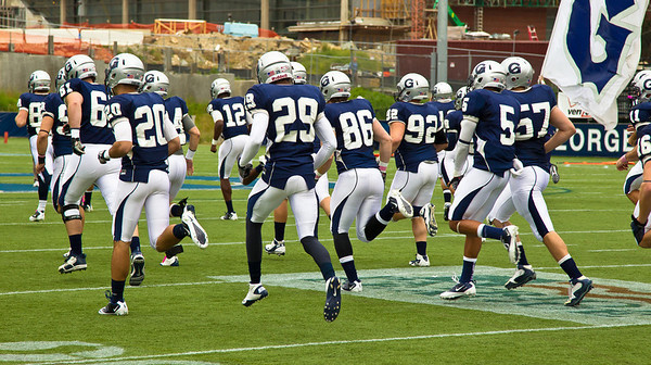 Hoyas take the field