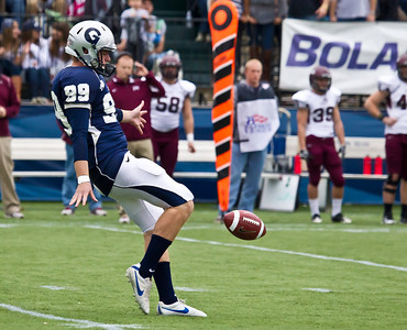 Georgetown's punter Matt MacZura