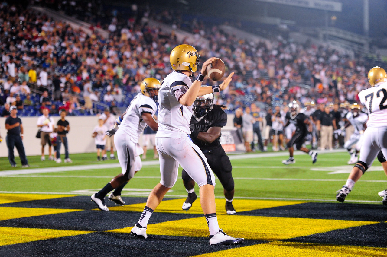 Sept 10, 2011 : Good Counsel quarterback Brendan Marshall (7) during action at the 2011 Patriot Classic Football tournament at the United States Naval Academy Stadium in Annapolis, Maryland. Good Counsel defeated Gilman 26-21.