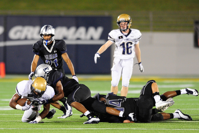 Sept 10, 2011 : Good Counsel's Dorian O'Daniel (6) in action at the 2011 Patriot Classic Football tournament at the United States Naval Academy Stadium in Annapolis, Maryland. Good Counsel defeated Gilman 26-21.