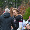 Groton-Dunstable's Nate Forbes receives the Groton-Dunstable player of the game award. SUN/Ed Niser