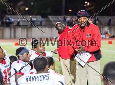 HD Woodson @ Yorktown Football (12 Sep 2014)