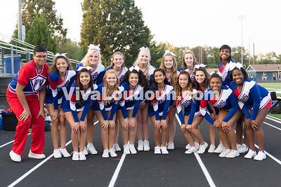 Park View High School Cheerleaders