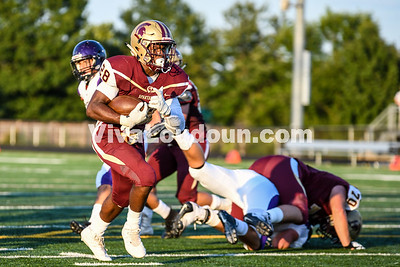 Football: Potomac Falls vs Broad Run 8.24.2018