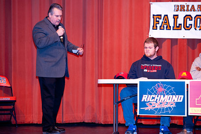 Briar Woods Signing Day 2014