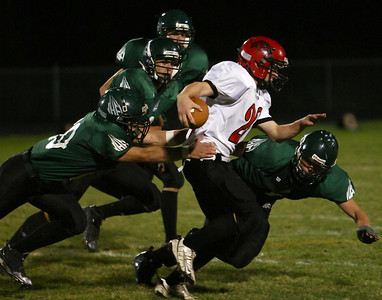 Holy Family High School Football vs Belle Plaine (Oct 10, 2008)