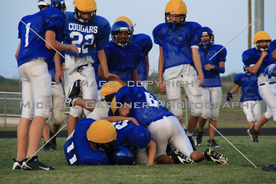 Jarrell Cougars Football  Shot #2032