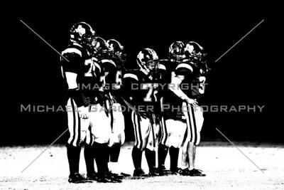 Football Silhouette photo - Jarrell Texas